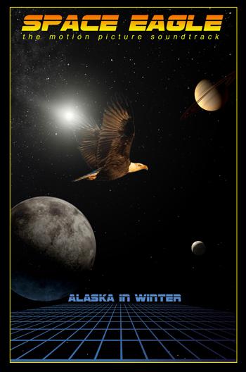 Mit Space Eagle immer noch im Kassettendeck. Alaska in Winter!