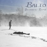 "CD-Cover: ""October's Road"" von Balto"