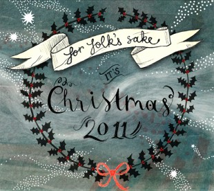 "CD-Cover: ""For Folk's Sake It's Christmas"""