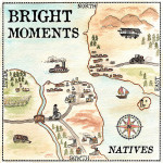 "CD-Cover: ""Natives"" von Bright Moments"
