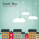 "CD-Cover: ""Newman's Open Choir"" von Catch Bees"